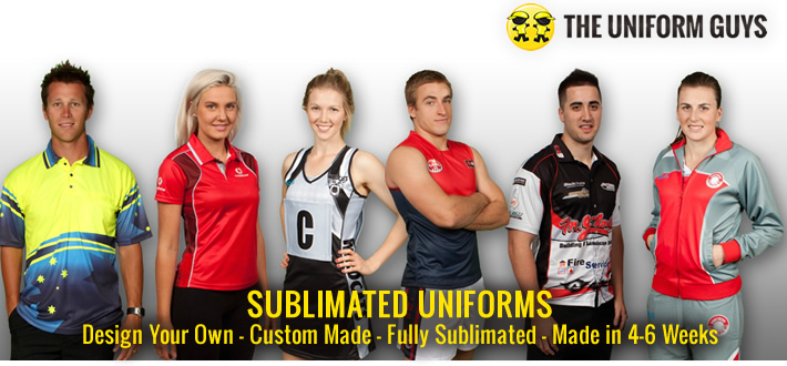 Design Your Own Sublimated Uniforms!