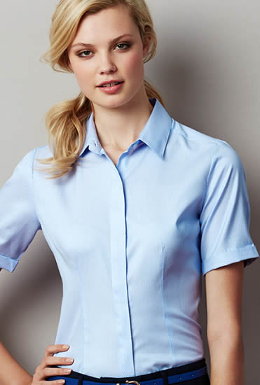 LADIES STIRLING SHIRT BLUE