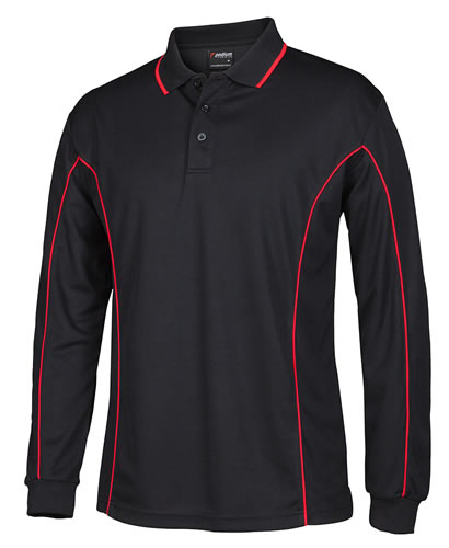 Adults & Youth L/S Poly Polo