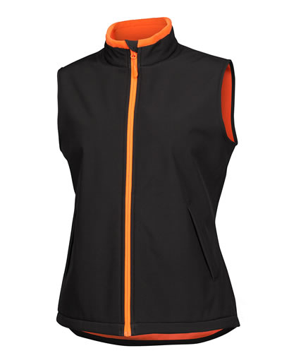 Ladies Water Resistant Softshell Vest