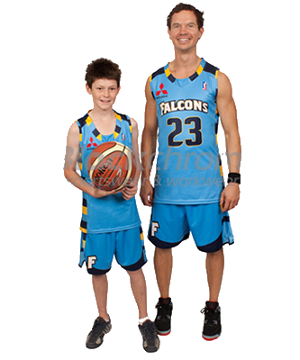 Basketball College Neck Singlet Youth