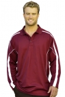 Mens Celebrity Long Sleeve Polo