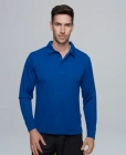 Mens Botany Long Sleeve Polo