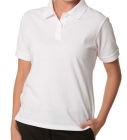 LADIES DELUXE POLO - White