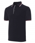 Mens Double Contrast Polo