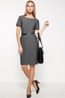 Ladies Corporate Short Sleeve Shift Dress