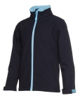 Kids Podium Water Resistant Softshell Jacket