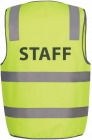 Hi Vis DN Safety Vest STAFF