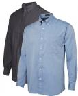 Mens Chambray Long Sleeve Shirt