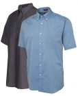 Mens Chambray S/S Shirt