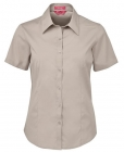 Ladies Urban S/S Poplin Shirt Bone