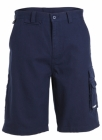 Canvas Cargo Short Navy