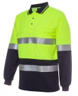 Hi Vis Day & Night Traditional L/S Polo