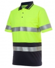 Hi Vis Day & Night Traditional Polo