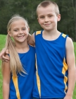 Kids Eureka Sports Singlet
