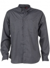 Mens Connor Long Sleeve Shirt Navy