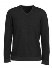 Mens V Neck Merino Jumper