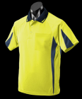 HiVis Yellow/Navy/Silver