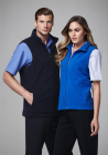 Mens Plain Microfleece Vest