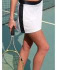 Ladies Sports Skort White/Navy
