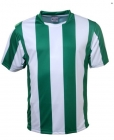 Adults Sub Stripe Tee Green/White