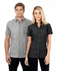Mens Dylan Short Sleeve Denim Shirt