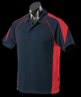 Kids Premier Polo Navy/Red