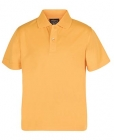 Kids Poly Polo Gold