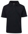 Kids Poly Polo Navy