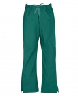 Ladies Scrub Pants, Medical Uniforms Hunter Green