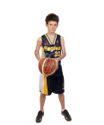 Basketball Lakers Neck Jersey Youth