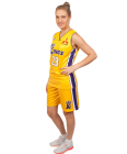 Basketball Lakers Neck Singlet