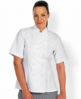 Ladies Chef Jacket Short Sleeve