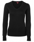 Ladies Knitted Jumper Black