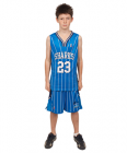 Basketball Magic Neck Singlet Youth