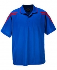 Mens Force Polo Cobalt/Red