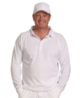 Adults Lightweight Cricket Polo Long Sleeve