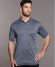 Mens Harland Heather Polo