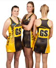 Netball Sublimated Racer Back Dress