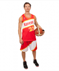 Basketball Round Neck Singlet