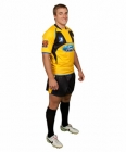 Rugby Jersey Knights Neck with Side Panel