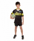 Rugby Jersey Short Sleeve with Hybrid Neck