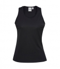 Ladies Sprint Singlet Black