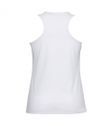 Ladies Sprint Singlet White Back
