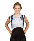 Sublimated Sleeveless Polo Shirt