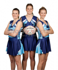Netball Sublimated V-Neck Bodysuit