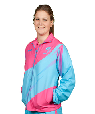 Sublimated Track Jacket Set In Mini Cuff